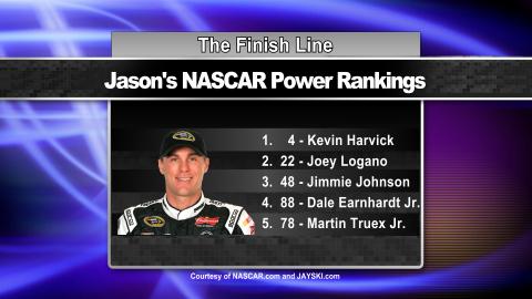 Jason's March 18th Power Rankings